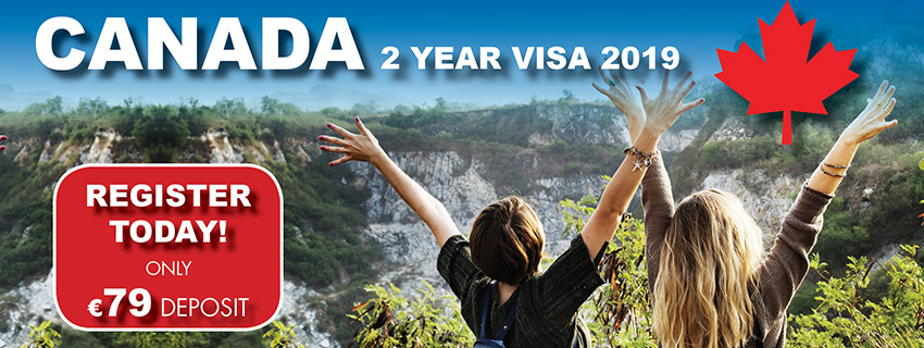 Canada Visas , Canada 2 Year Working Holiday Visa, Canadian